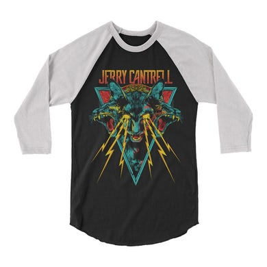 Jerry Cantrell Electric Cat Eyes Raglan