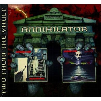 Annihilator Alice In Hell/Never, Neverland (2 for 1) CD