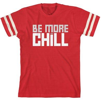 Be More Chill Ensemble (Original Cast) BMC Block Logo Football T-Shirt