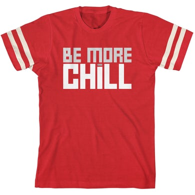 Be More Chill Ensemble (Original Cast) BMC Block Logo Football T-Shirt