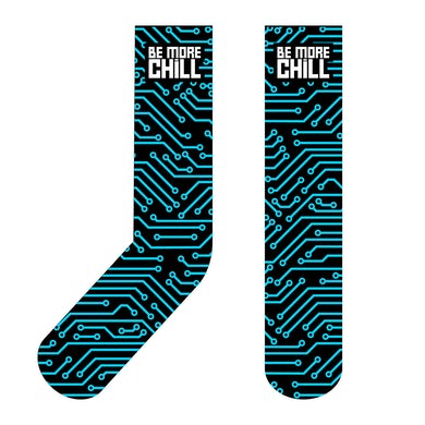 Be More Chill Ensemble (Original Cast) BMC Circuit Board Socks