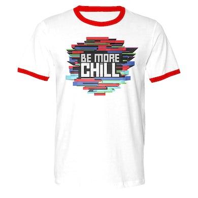 Be More Chill Ensemble (Original Cast) BMC Color Block Logo Ringer T-Shirt