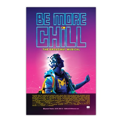 Be More Chill Ensemble (Original Cast) BMC Broadway Window Card