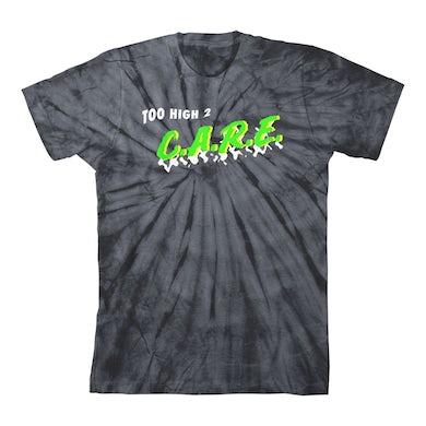 Krewella Black Too High 2 C.A.R.E. Tie Dye T-Shirt
