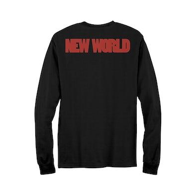 Krewella Skull Crystal Ball Long Sleeve T-Shirt