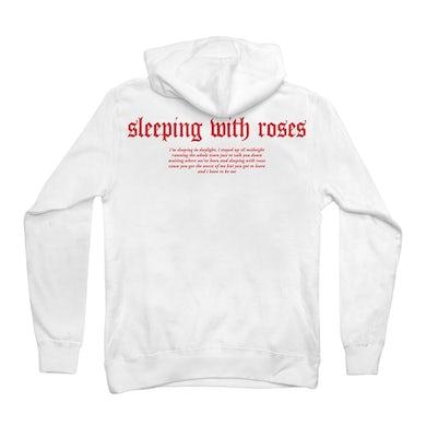 Chelsea Cutler Rose Logo Hoodie (White)