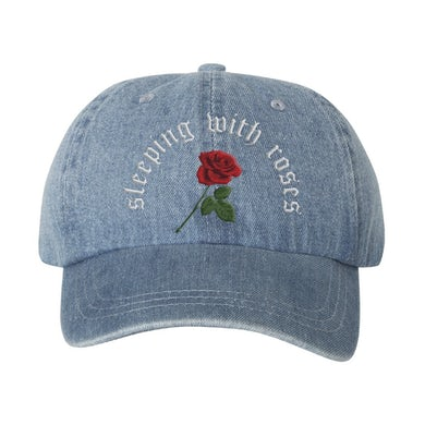 Chelsea Cutler Rose Denim Hat