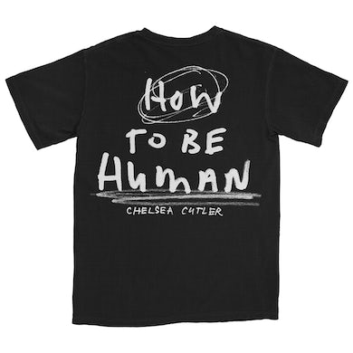Chelsea Cutler How To Be Human Album Cover T-Shirt