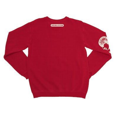 Chelsea Cutler How To Be Human Red Sweatshirt