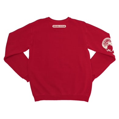 How To Be Human Red Sweatshirt