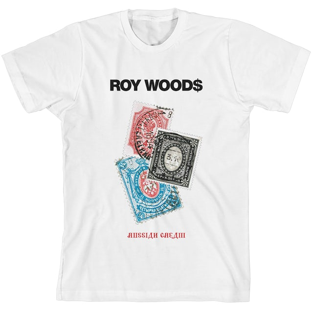 Roy Woods Russian Cream Stamped T-shirt