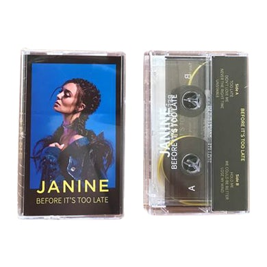 Janine Before It's Too Late (Clear Cassette)