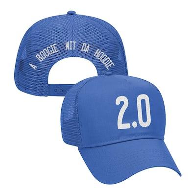 A Boogie Wit da Hoodie Artist 2.0 Royal Blue Trucker Hat