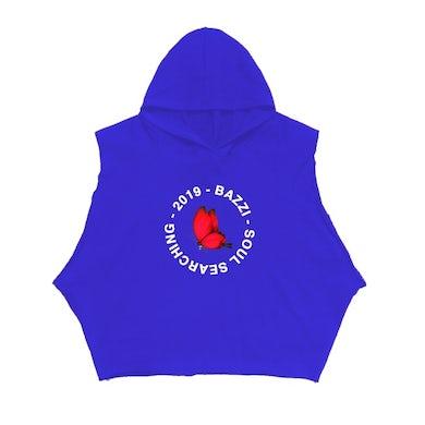 Bazzi Neptune Cutoff Sleeve Hoodie (Blue)