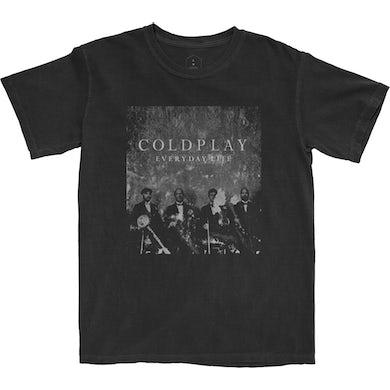 Coldplay Everyday Life Black T-Shirt