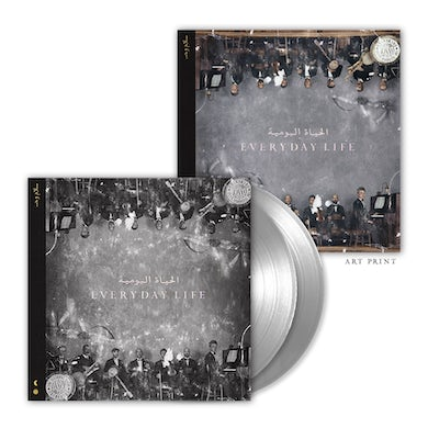 Coldplay Everyday Life Exclusive Double Vinyl