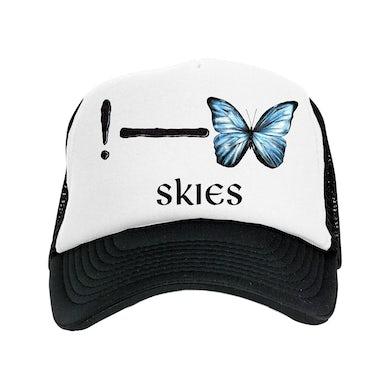 Lil Skies ! Butterfly Trucker Hat