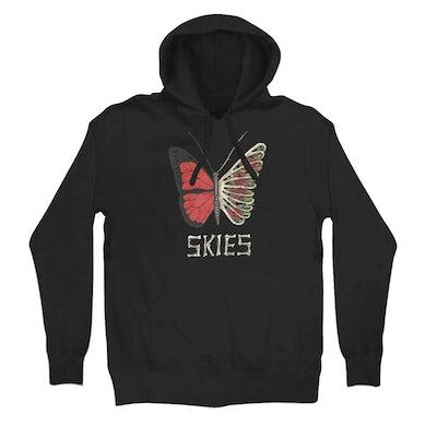 Lil Skies Butterfly Ribs Hoodie (Black)