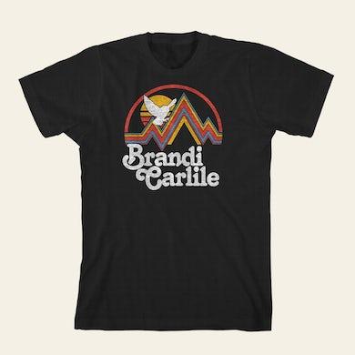 Brandi Carlile  Stripe Mountain T-Shirt