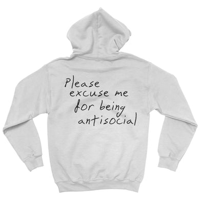 Roddy Ricch Please Excuse Me Hoodie (White)
