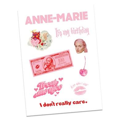 Anne-Marie Birthday Sticker Set