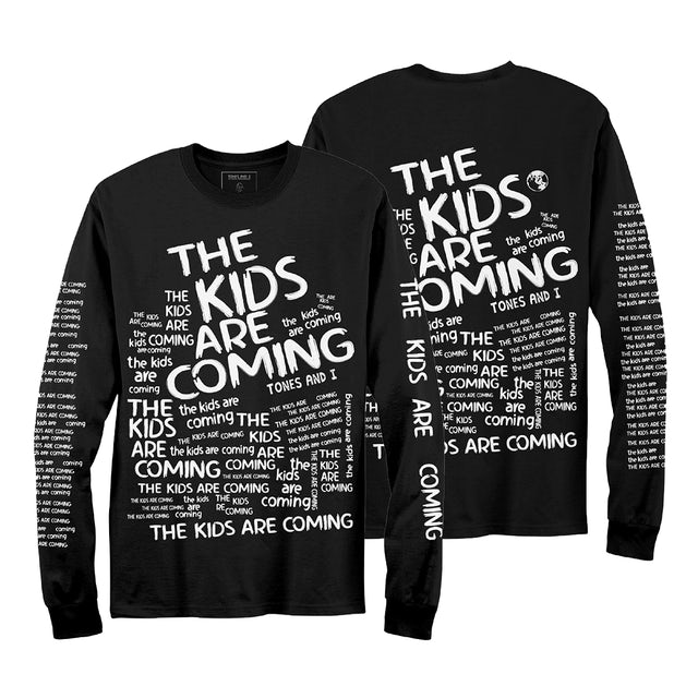 Tones And I The Kids Are Coming Longsleeve