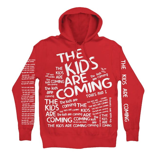 Tones And I The Kids (RED) Hoodie – LIMITED EDITION