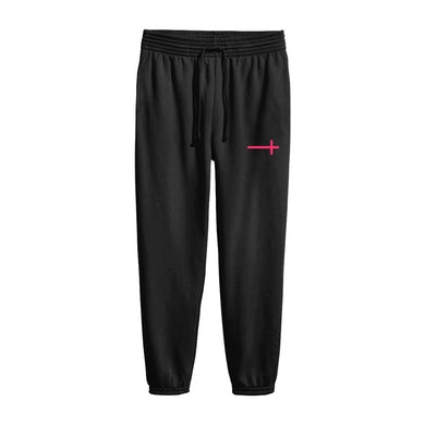 Hayley Williams Cross Joggers Pink