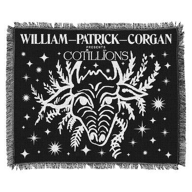 William Patrick Corgan Cotillions Woven Blanket