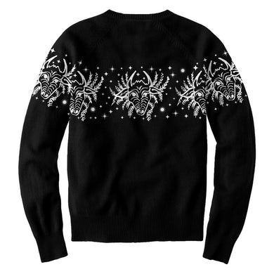 William Patrick Corgan Bull Head Sweater