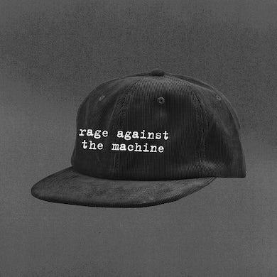 Rage Against The Machine Logo Corduroy Hat