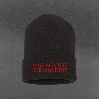 Rage Against The Machine Banner Beanie