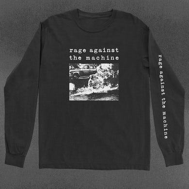 Rage Against The Machine Self-Immolation Long Sleeve T-Shirt