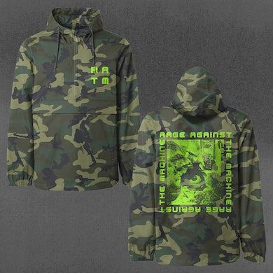 Rage Against The Machine Camo Anorak Jacket