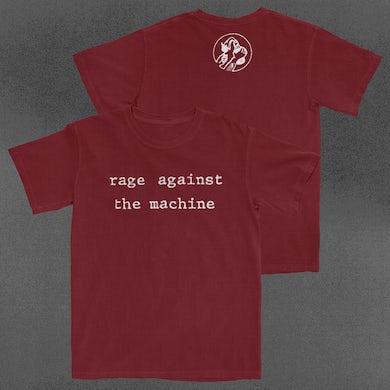 Rage Against The Machine Typewriter Molotov T-Shirt