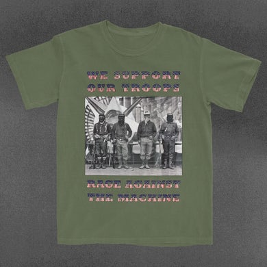 Rage Against The Machine Support Our Troops T-Shirt