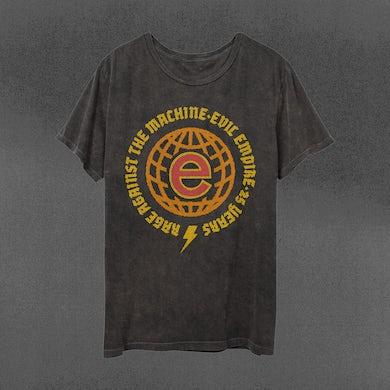 Rage Against The Machine Evil Empire Globe T-Shirt