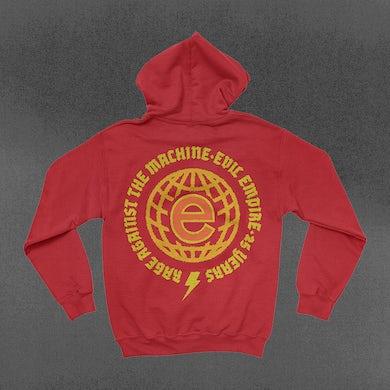 Rage Against The Machine Evil Empire Globe Hoodie
