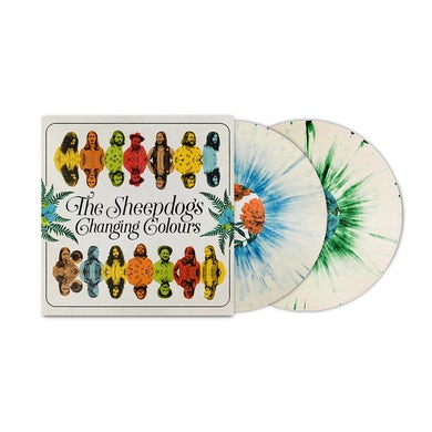 The Sheepdogs Changing Colours Deluxe Vinyl