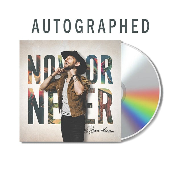 Brett Kissel Autographed Now Or Never CD