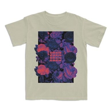 Squares And Flowers T-Shirt