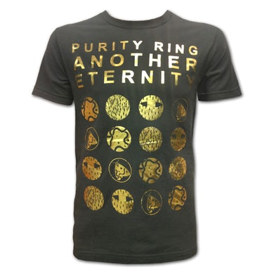 Purity Ring Gold Foil Another Eternity T-Shirt