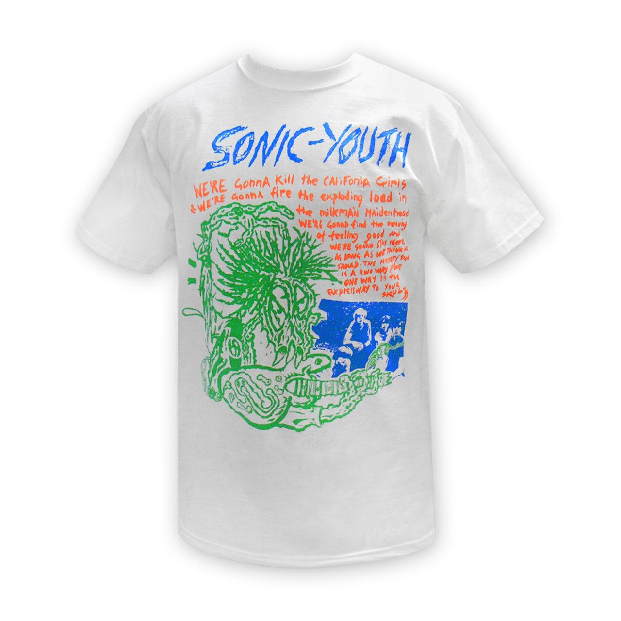 d0e11f86b Sonic Youth. Savage T-shirt