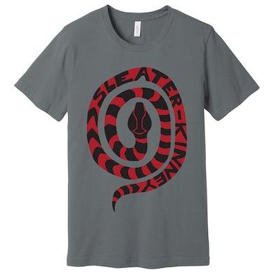 Sleater-Kinney Snake [GREY] T-shirt