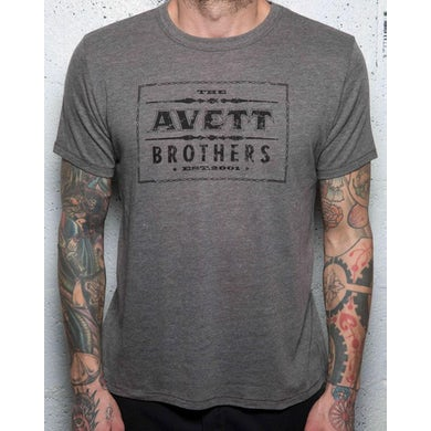 The Avett Brothers Printing Press T-shirt