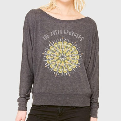 The Avett Brothers Ladies Mandala L/S T-shirt