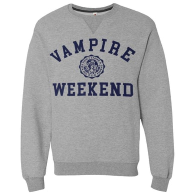 Vampire Weekend Collegiate Sweatshirt [GREY]