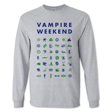 Vampire Weekend L/S Symbol T-shirt