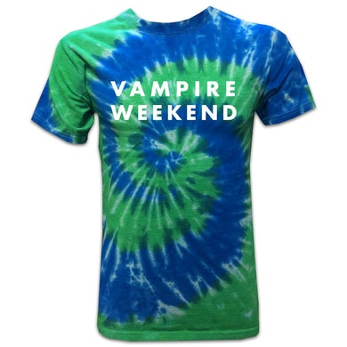 Vampire Weekend Frog Tie-Dye T-shirt