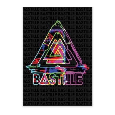 Bastille EVOLUTION GLITCH A3 POSTER